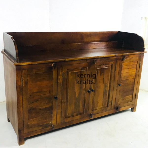SDBB75857 Mango wood service Counter With Menu Pocket