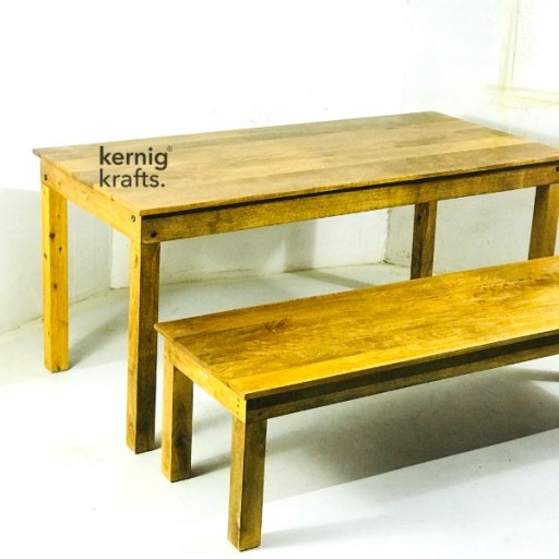 SETD79825 Dining Table and Bench Set