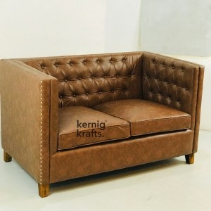 SOFA13237 Contemporary Design Two Seater Sofa with Tufted Back