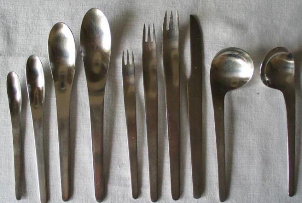 cutlery set arne jacobsen scandinavian  design kernig krafts