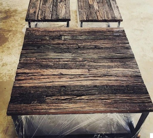 railway sleeper wood reclaimed kernig krafts
