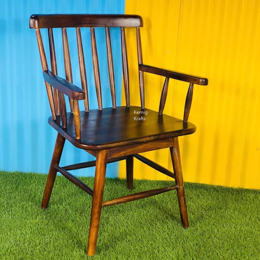 sheesham wood rosewood handcrafted chair classic design solid wood furniture