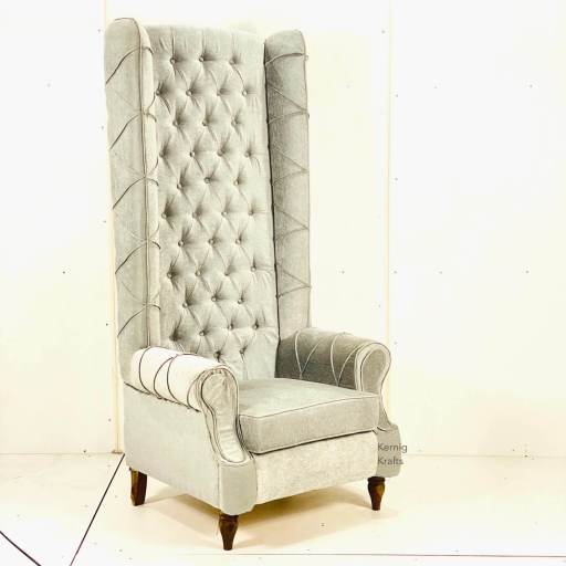 tufted grand chair king kernig krafts accent queen