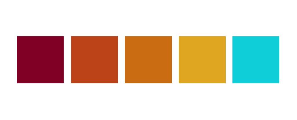 color palette earthy warm tones kernig krafts interiors