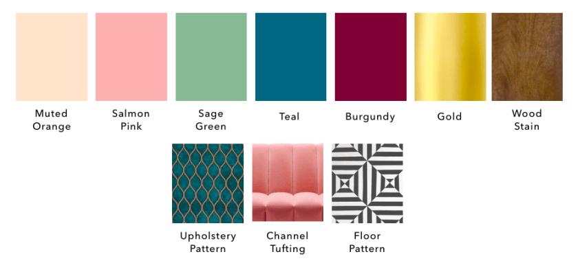 pattern design wood furniture kernig krafts colours bespoke gold