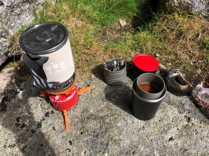 Jetboil and cafflano