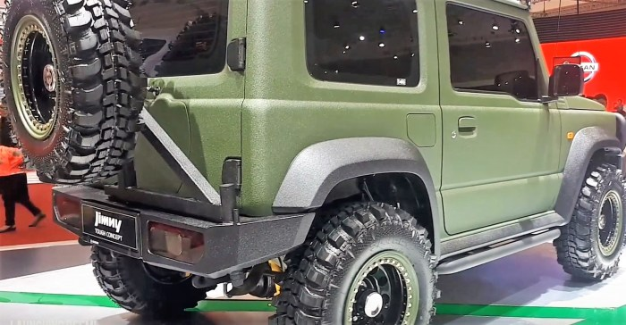 Suzuki Jimny Tough Road concept