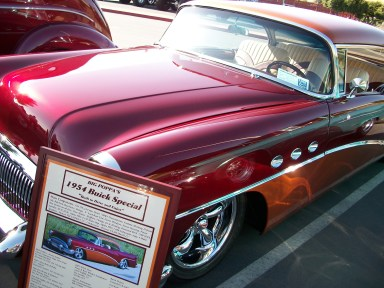 Red 1954 Buick Special