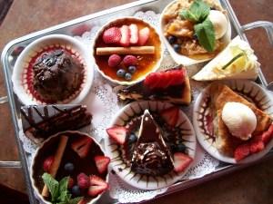 The Dessert Tray!