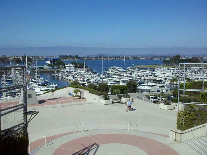 View from the San Diego Convention Center