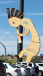World's Largest Kokopelli in Camp Verde, Arizona.