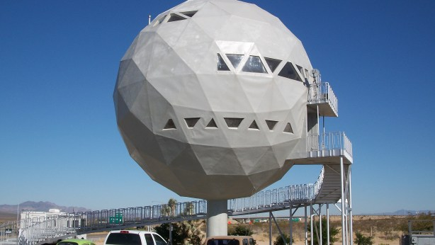 The Golf Ball House at Area 66.
