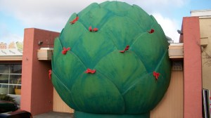 The Giant Artichoke in Castroville, CA  - The Artichoke Capital of the World.
