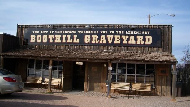 Boothill Graveyard souvenir shop