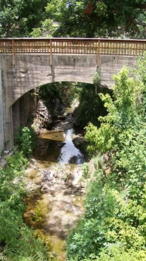 Creek at Zelder Mill