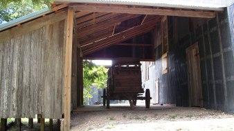 An old cart.