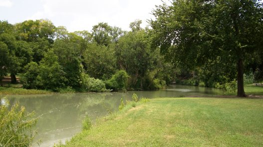 San Marcos River in Luling, Texas