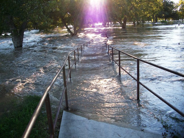 Guadalupe River Texas flood 2013