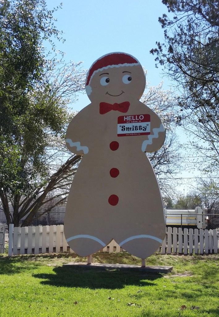Gingerbread Cartman in Smithville, Texas.