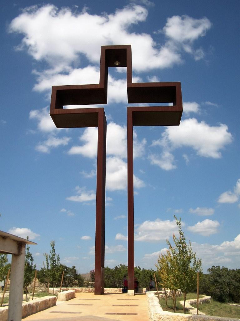 The Empty Cross in Kerrville, Texas.