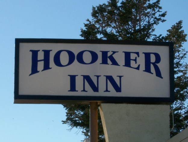 The Hooker Inn.