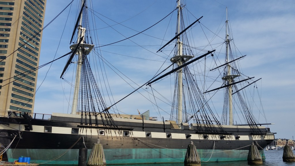 The USS Constellation