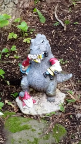 Godzilla eats the gnomes.
