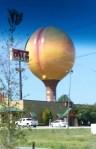 The Peachoid, a giant peach in South Carolina.