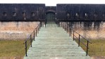 The drawbridge at Fort Advanced Redoubt.