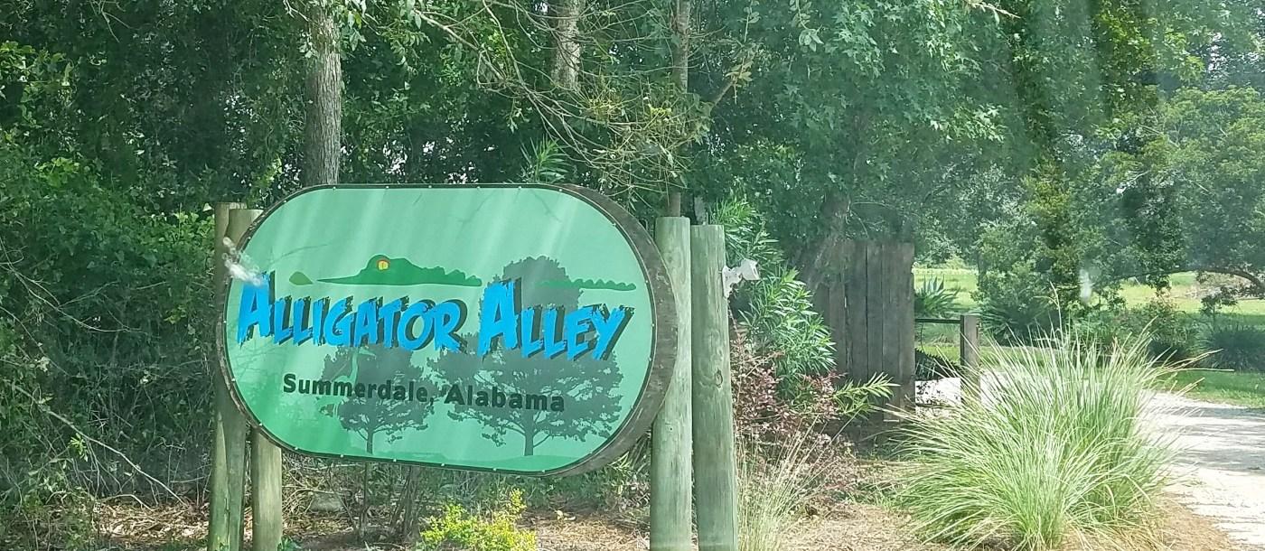 Alligator Alley in Summerdale, AL