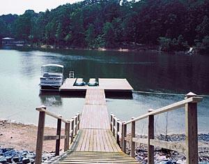 Wooden Boat Docks Buggs Island Dock Service