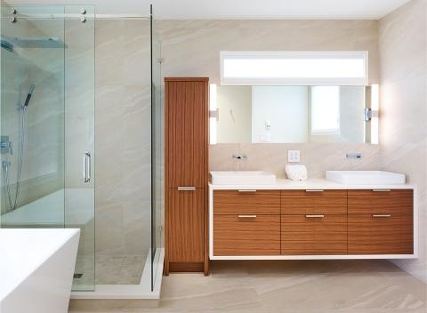Sleek-bathroom-design