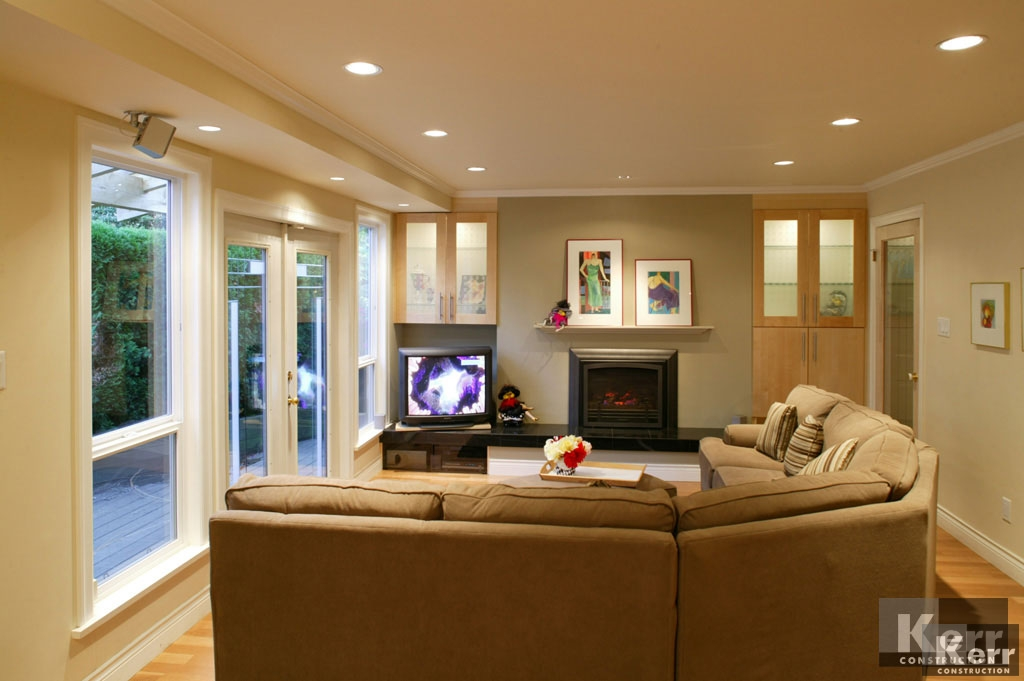 Living Room Design Gallery & Portfolio : Kerr Construction