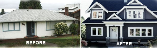 Home Additions before and after