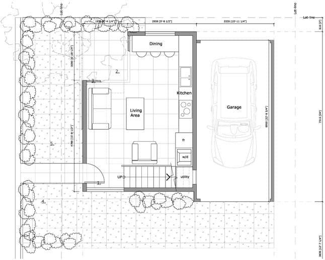 Sustainable Living in Laneway Homes Kerr Construction and Design – Laneway House Floor Plans