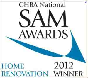 Kerr Construction SAM Awards Custom Home Builders