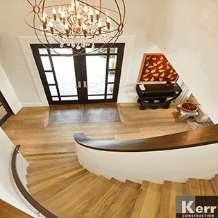 Custom staircase Vancouver