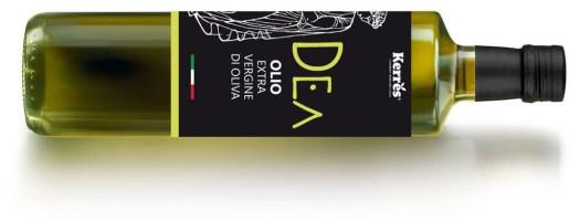 bottiglia olio extravergine di oliva dea kerres
