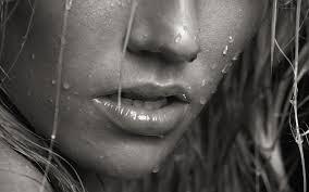 rain-on-a-face