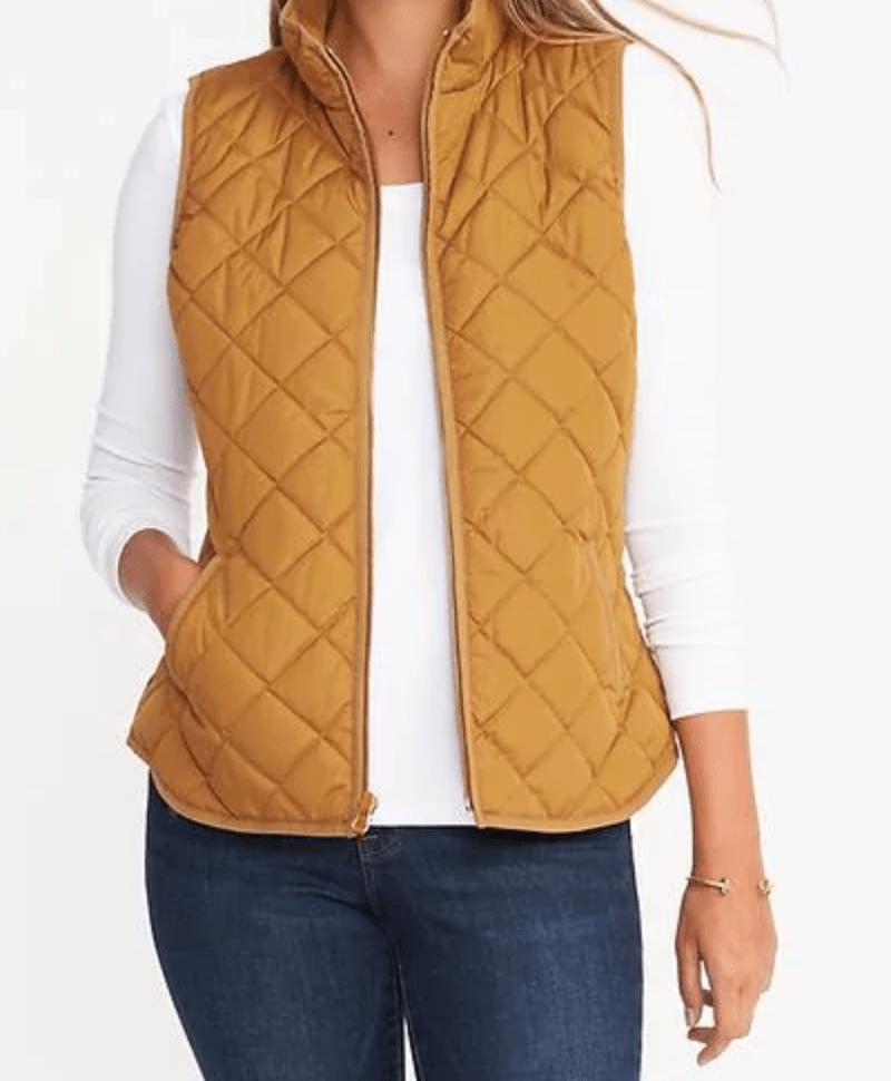 SPLURGE/SAVE: Quilted Vest