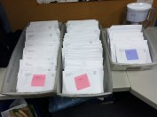 All finished with the newsletter mailing.