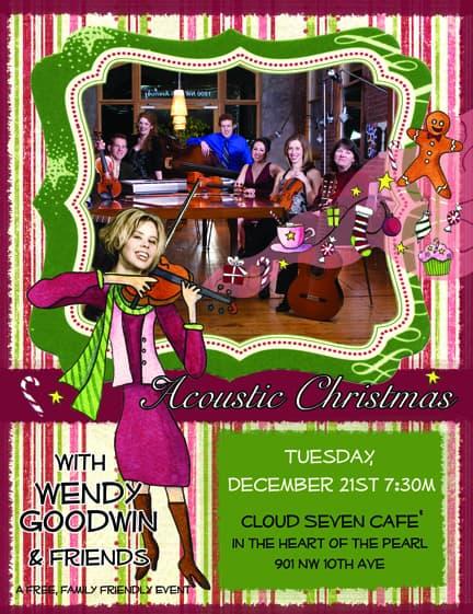 Christmas Concert Postcard
