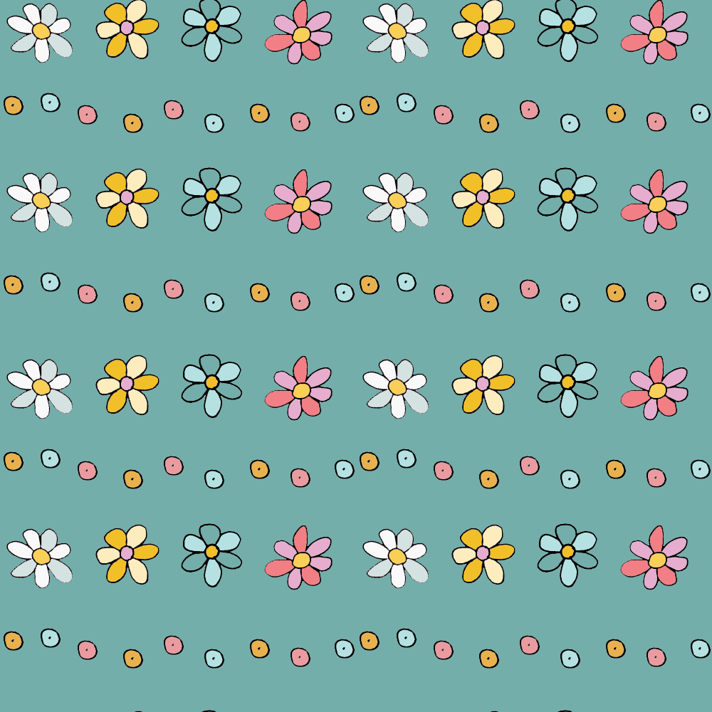 Daisy Chain-n-Dots (Blue)