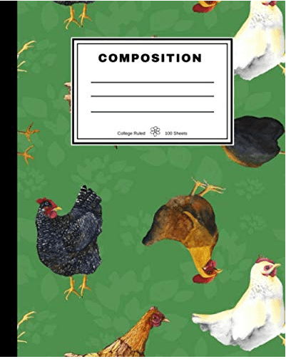 Barnyard Chickens Notebook