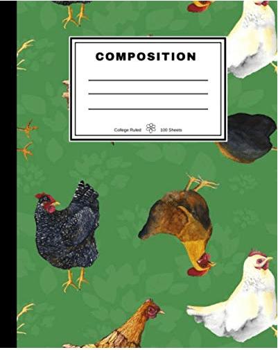 Barnyard Chickens Notebook