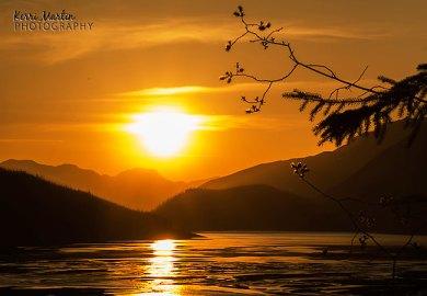 Medicine Lake Sunset