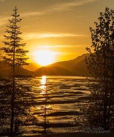 Medicine Lake Sunset 2