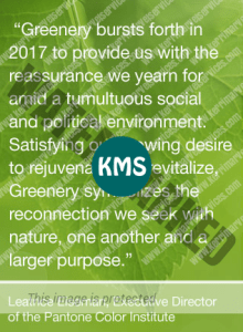 Greenery - the color of 2017
