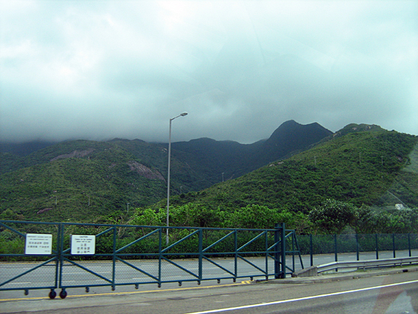 it was a rainy and foggy day.....the low hanging clouds over the hills looked very picturesque