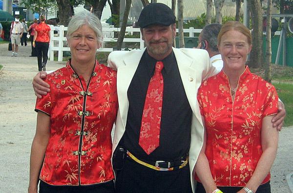 Dr. Jenn, Ali and Leslie